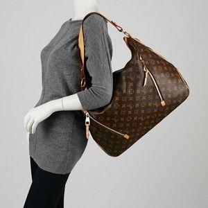💯% AUTH  Louis Vuitton Mono Delightful GM